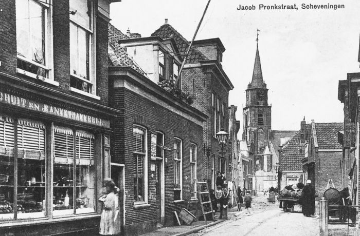 De Jacob Pronkstraat in 1914.
